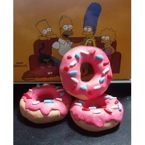 Chaveiro De Donuts Rosquinhas De Biscuit Artesanal