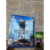 Star Wars Battlefront Para Play Station 4 Excelente