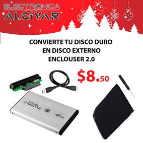 Case Enclosure Disco Duro Externo Laptop 2.5