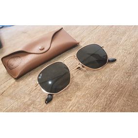 Ray Ban Hexagonal Tamanho 58 - Óculos no Mercado Livre Brasil 87d608a801