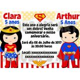 Convite Super Homem Digital No Mercado Livre Brasil