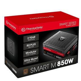 Fonte Thermaltake Smart M 850w Modular 80 Plus Pfc Ativo