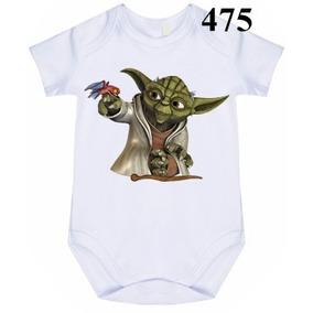 Body Infantil Star Wars Yoda Parana Curitiba - Roupas de Bebê no ... 6de50773169