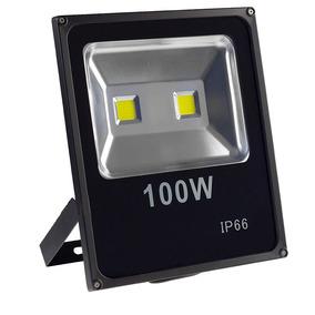 Refletor Led Holofote 100w Bivolt Ip65 Branco Frio Briwax