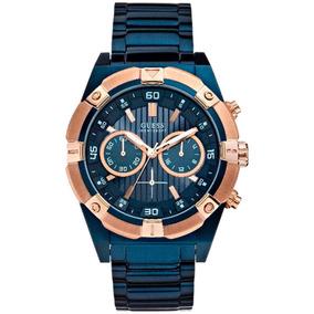 31b8ff02e3e Relogio Guess Azul 100m 330ft Feminino - Relógios De Pulso no ...
