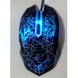 Kit 2 Mouse Usb Gaming Profesional 6 Botones 2400 Dpi Envio