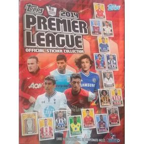 Álbum De Figurinhas Premier League 2014 - Álbum Incompleto