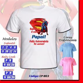 Frases Feliz Aniversario Camisetas Para Masculino No Mercado Livre