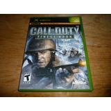 Call Of Duty Finest Hour Xbox Clásico