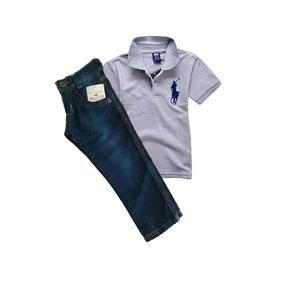 1cb6d372de Camisa Polo Infantil - Pólos para Meninos no Mercado Livre Brasil