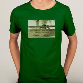 Camisa Zapata Zapatista Frase Criança Mundos - 6 Cores