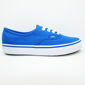 Tenis Vans Authentic Vn0a38em4b6 French Blue True White Azul 5dc7818e7ad