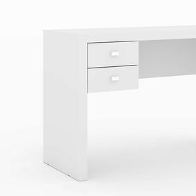 Mesa Escritório Tecno Mobili Me-4123 Cor Branco