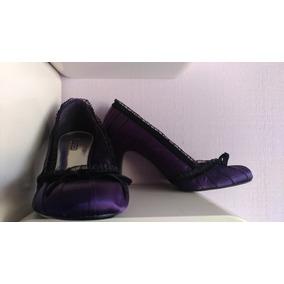 Zapatos Zara Color Morados Taco Femeninos Alto - Calzados en Mercado ... 226481141664