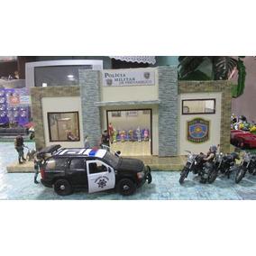 Núcleo Policial Para Escala 1/18 E 1/24 Único ( Completo )
