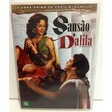 Dvd Filme Sansão E Dalila Épico Bíblico Original / Perfeito!
