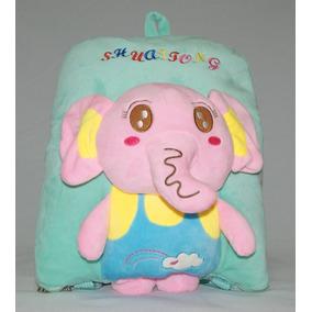 Mochila Bichos Infantil Cobertor Anti Alergico Brinde Ps001
