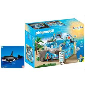 Playmobil 9060 Aquario + Playmobil Baleia Orca Lacrados