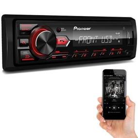 Radio Automotivo Pioneer Mvh298bt Troca Pasta Bluetooth Mp3