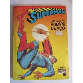 Superman Um Novo Homem De Aço Col Invictus N 13 Cx01