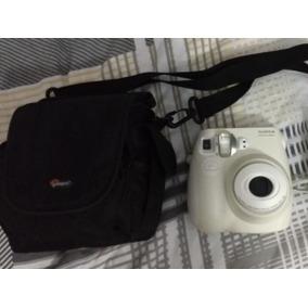 Conjunto Câmera Instax Fuji Mini 8 + Bolsa