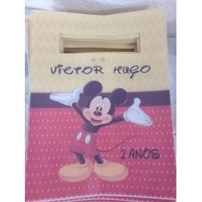 70 Sacola Surpresa De Tnt 24x18 Mickey