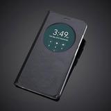 Case Capa Flip View Asus Zenfone 3 5.5 Ze552kl Couro Janela
