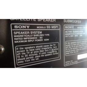 Subwofer Sony Ss-msp1