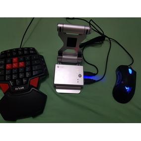 Kit Completo Gamesirx1 Battleground Teclado E Mouse
