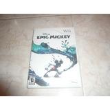 Oferta, Se Vende Epic Mickey Wii