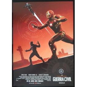 Capitão América: Guerra Civil - Iron Man - Pôster Imax