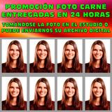 Foto Carné, Foto Carnet, Fotos Visa, Fotos Pasaporte Promo !