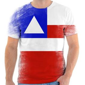 c69761520 Camisa Bandeira Bahia - Camisetas e Blusas no Mercado Livre Brasil