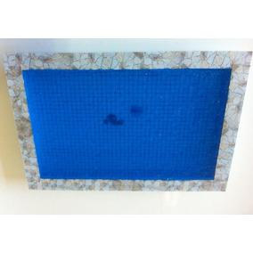 Piscina 17x12x1,2cm Sendo Agua 14,5x9,5x1cm Ho 1:87 1:100