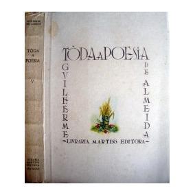 Livro Tôda A Poesia - Tomo Ii