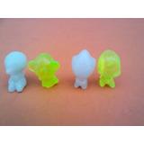 Lote X 7 Gogos Panini Brillantes Fluorescentes