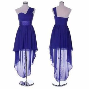 Vestidos para damas de honor azul rey