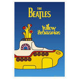 Poster Yellow Submarine The Beatles Original Importado Uk