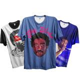 Kit 3 Camisetas Rap Gambino Donald Glover America Swag Trap 264fa4bebe