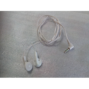 Audífonos Universales Blancos Audio Plus 3.5 Mm Nuevos