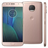 Oferta Moto G5 S Plus 32gb Blush Gold + Nf - S/fone