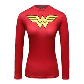 Playera Superheroes Gym Wonder Woman Mujer