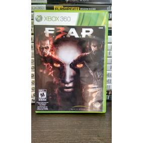 F.e.a.r - Fear 3 Xbox 360 Mídia Física Frete R$ 12