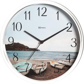 7d7a4c6dcb6 Relogio Parede Branco 26cm - Relógios no Mercado Livre Brasil