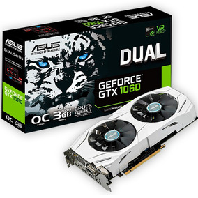 Placa Video Geforce Asus Gtx 1060 3gb Dual Oc Gddr5 Mexx
