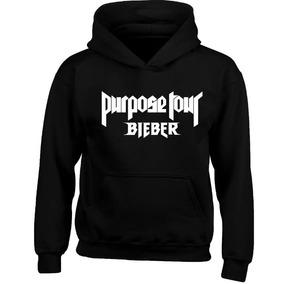 Hoodie Sudadera Justin Bieber Purpose Tour