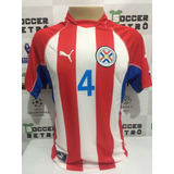 Camisa Paraguai Copa Do Mundo 2002 Gamarra 4 3acf635f8cc11