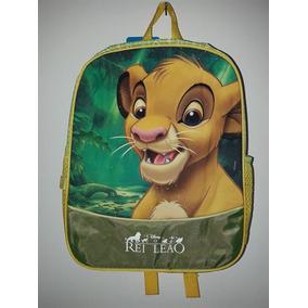 Mochila Escolar Rei Leão