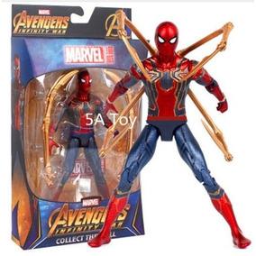 Homem Aranha Boneco Articulado C/ Acessorios Vigadores