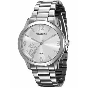 Relogio Quartz Feminino Com Diamante - Joias e Relógios no Mercado ... 236ca5f673